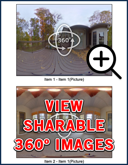 view 360 degree sharable images